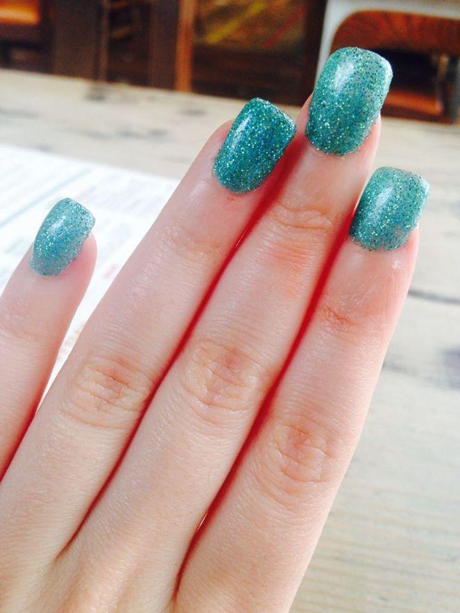 Mermaid nails <3